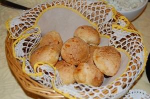 Pao de Queijo, (Brazilian Cheese Bread), Photo by Priscilla Ferreira