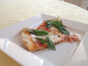 basil slices