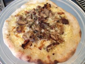 Wild Mushroom and Margherita