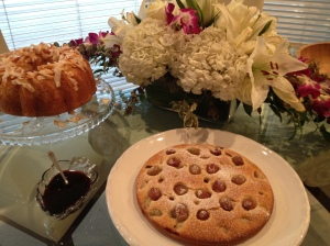 Harvest Cake with Grapes and Sangiovese Syrup, Recipe by Food & Wine, Photo by Priscillakittycat