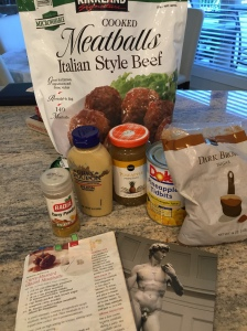 Curry Mustard Glazed Meatballs, Photos and Video by Priscillakittycat
